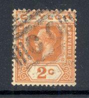 CEYLON, Barred Numeral Postmark CO - Ceylon (...-1947)