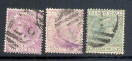 CEYLON, Barred Numeral Postmarks 29, 45, A - Ceylon (...-1947)