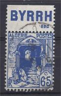 Algérie - Carnets - Pub - Rue De La Kasbah 65 C Bleu - BYRRH Sec -  Oblitéré - Advertising