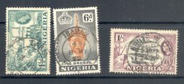 NIGERIA, Postmark Zaria, Ibadan, Ebute Metta - Nigeria (...-1960)
