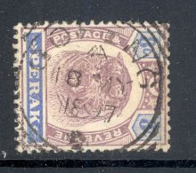 PERAK, Squared Circle Postmark GOPENG - Perak