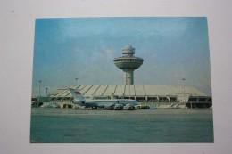 ARMENIA. YEREVAN Airport - Aeroport - Plane - TU Avion  . OLD  PC 1982 - Stamped Postcard - Stationery - Aerodrome
