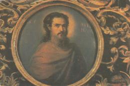 Romania Agapia Monastery Icon Of The Prophet Daniel Painted By Nicolae Grigorescu Postcard - Schilderijen, Gebrandschilderd Glas En Beeldjes