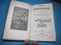 Histoire De La Sainte Bible Tirées Des Saint Pères -  Ronaumont -  Ardant Limoges 1836 - Livres, BD, Revues