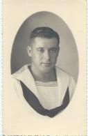 Photographie/Photo De Studio /Marine Militaire / Portrait De Marin / Vers 1930-1950     MAR34 - Bateaux