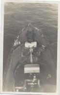 """Photographie/Amateur /Marine Militaire /En Mer /  Sur Le Pont /  """" Kersaint"""" ?/ Vers 1930-1950     MAR35 - Barche"""