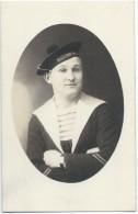 Photographie- Carte Postale/Photo De Studio /Marine Militaire/ Portrait De Marin/ Marine Nationale/Vers 1930-1950  MAR36 - Bateaux