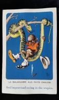 CPA Illustrée, Humoristique Signée Mich, Art Nouveau, 1900 Env - Illustrateurs & Photographes