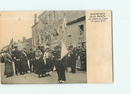 MARS LA TOUR : Défilé  Anniversaire De La Bataille Du 16 Août 1870. Maison Drion.2 Scans. Edition ? - Francia