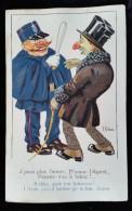 CPA Illustrée, Humoristique Signée Gibson, Art Nouveau, 1900 Env - Illustrateurs & Photographes