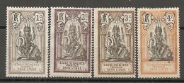 INDE -  Yv. N° 25 à 27  *  1c,2c,3c,4c   Brahma  Cote  1,4  Euro  BE - India (1892-1954)