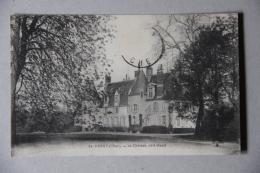 HERRY (CHER), Le Château Coté Ouest - Autres Communes