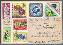 Mongolia, 1961, For Magdeburg - Mongolia