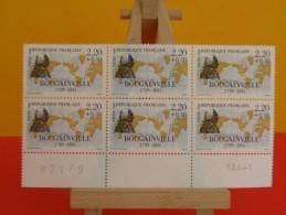 N°2519 Y&T 1988 Neuf - Coté 6 € (2015) Bougainville 1729/1811 Bloc De 6 - France