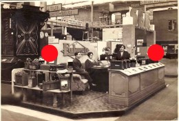 Stand Des Batteries FULMEN Exposition En Belgique  Radio SBR  / 115 X 167 - Professions