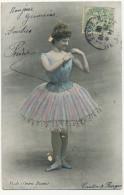 Danseuse En Tutu Clotilde Piodi Née A Milano Fille Sculpteur Luigi Piodi Opera Danse Edit Cautin Et Berger - Dance