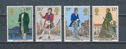 Great Britain, 1979, Rowland Hill, MNH Set, Michel 804-807