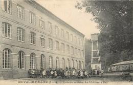 ORIVAL SAINT HELLER - Colonie Scolaire, Le Chateau D'eau. - Châteaux D'eau & éoliennes