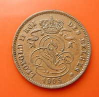 Belgium 2 Centimes 1905 - 1865-1909: Leopold II