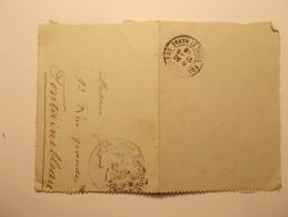 Marcophilie Lettre Enveloppe Cachet Obliteration Timbre -   WW1 Militaire  - 1915 (502) - Marcophilie (Lettres)