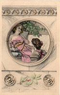 ART NOUVEAU - Femmes - Genre Viennoise (87566) - Illustratoren & Fotografen