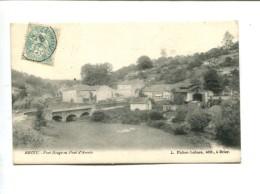 CP - Briey (54) Pont Rouge Ou Pont D Arcole - Briey