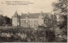 22 Châteaux De Bretagne  Château Du Gué De L'Isle , Près De Chèze - Frankrijk