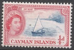Cayman Islands. 1953-62 QEII. ¼d MH. SG 148 - Cayman Islands