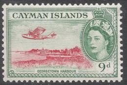 Cayman Islands. 1953-62 QEII. 4d MH. SG 157 - Cayman Islands