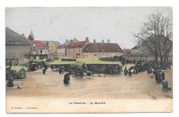 LA GUERCHE - LE MARCHE - CARTE ANIMEE - France