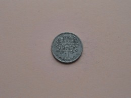 1945 - 1 Escudo - KM 578 ( Uncleaned Coin - For Grade, Please See Photo ) ! - Portugal