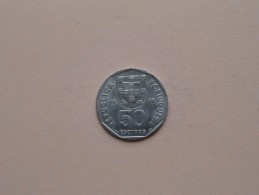 1998 - 50 Escudo - KM 636 ( Uncleaned Coin - For Grade, Please See Photo ) ! - Portugal
