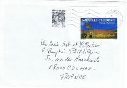 ARB-L79 - NOUVELLE CALEDONIE PA 300 Et N° 634 Sur Lettre Pour La France - Luftpost