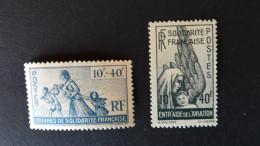 France Libre, 1943/44, BP27 - Francia (antiguas Colonias Y Protectorados)