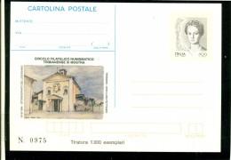 INTERO POSTALE-INTERI POSTALI I.P.Z.S.-C.P. IPZS - TRIBIANO - BORSE E SALONI COLLEZIONISMO-MOSTRA FILATELICA - 6. 1946-.. Repubblica