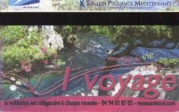 TICKET TRANSPORT  *BUS *BATEAUX-BUS Toulon - Busse