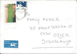Letter FI000094 - Israel To Yugoslavia Croatia - Israel