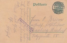 Entier Postal Allemand De Haguenau Pour Strasbourg - Scan Recto-verso