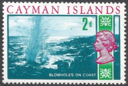 Cayman Islands. 1969 Definitives. 2d MH. SG 224 - Cayman Islands