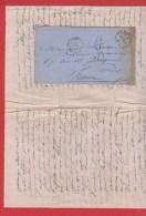 Env De Londres  --  Pour Paris  23 Avril 1861 - Postmark Collection