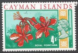 Cayman Islands. 1969 Definitives. 4d MH. SG 227 - Cayman Islands
