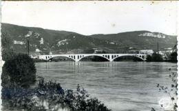 01 - Vues Sur L'Ain - LAGNIEU - Le Pont Sur Le Rhône - France