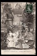 CPA ANCIENNE- TOULON (83)- CARNAVAL DE 1913- SA MAJESTÉ MISÉ MOUFFO- TRES GROS PLAN DE FACE- - Toulon