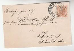 1903  Vinohrady Czech AUSTRIA  6h Stamps COVER - 1850-1918 Empire