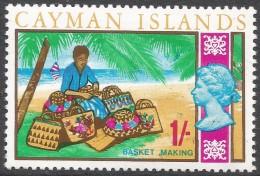 Cayman Islands. 1969 Definitives. 1/- MH. SG 230 - Cayman Islands