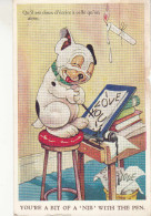 """Bonzo, Valentine & Sons, Dondee And London, You're A Bit Of A """"Nib"""" With The Pen (pk29899) - Illustrators & Photographers"""