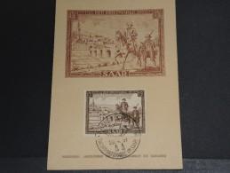 SARRE - Carte Maximum - Avril 1951 - A Voir - P18588 - Cartes-maximum
