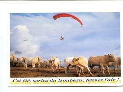 Cp - PARACHUTE - Parapente Alpes D'Huez - Paracaidismo