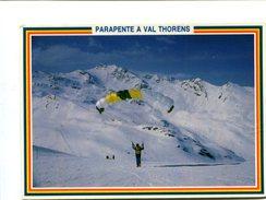 Cp - PARACHUTE - Parapente à Val Thorens (73) - - Paracaidismo