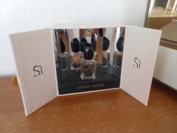 ACHAT IMMEDIAT;;;;COFFRET MINIATURE SI - ARMANI - - Miniatures Modernes (à Partir De 1961)